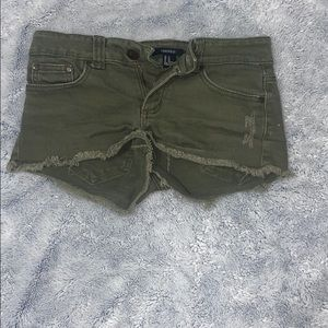 Booty Jean shorts